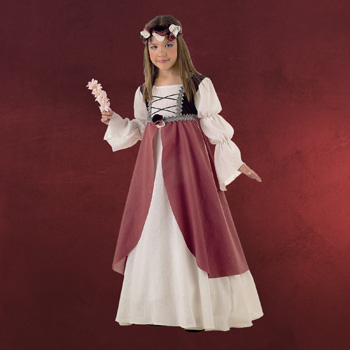 Mittelalterliche Brautjungfer - Kinderkost�m
