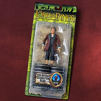 Bilbo auf Geburtstagsparty - Actionfigur