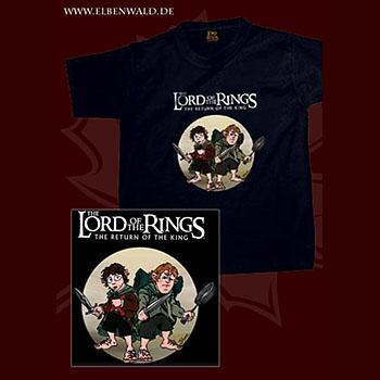 Hobbits Kinder T-Shirt schwarz