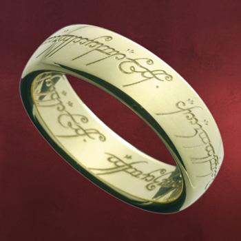 Der Herr der Ringe - Ring Gold 14 Karat