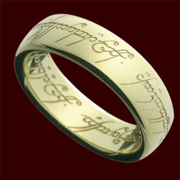 Der Herr der Ringe - Ring Gold 18 Karat