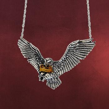 Hedwig, Harrys Zaubereule - Anh�nger mit Kette