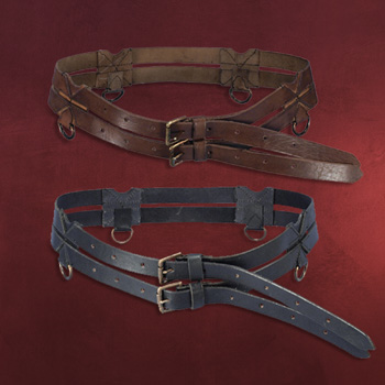 Ledergürtel Twin Belt