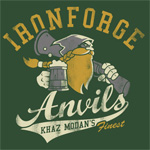 World of Warcraft Ironforge Anvils T-Shirt