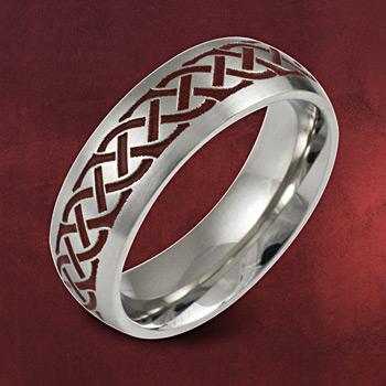 Herr der Ringe - Ring Reiter Rohan II schwarz-rot