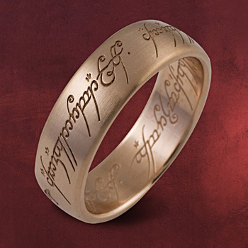 Herr der Ringe - Ring Rotgold