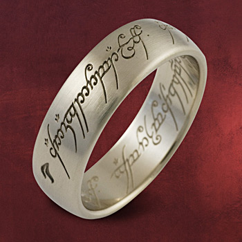 Herr der Ringe - Ring Weissgold