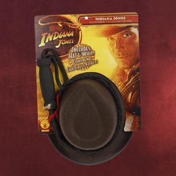 Indiana Jones - Hut & Peitschen Set f�r Kinder