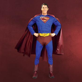 Superman - Deluxe Kost�m f�r Erwachsene
