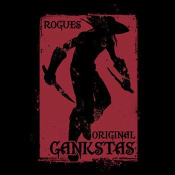 World of Warcraft Gankstas - Longsleeve