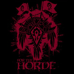 World of Warcraft Horde Wappen T-Shirt