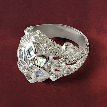 Nenya - Galadriels Ring Silber 925