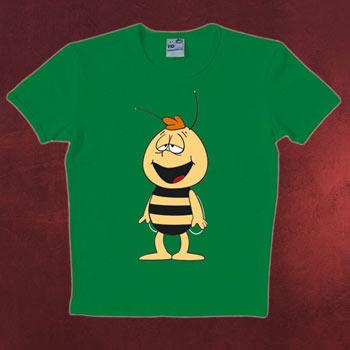 Biene Maja - Willi T-Shirt gr�n