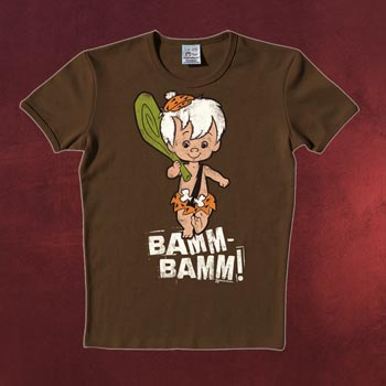 Flintstones - Bamm Bamm Walking T-Shirt