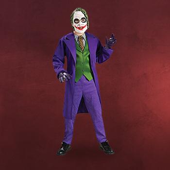 Batman - The Dark Knight - Joker Deluxe Kost�m f�r Kinder