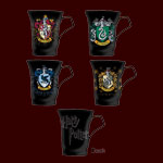 Harry Potter - Wappen Tassen 4-er Set