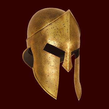 Frank Millers 300 Spartaner Helm
