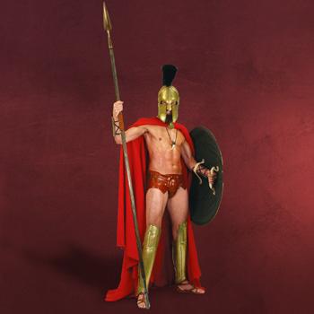 Frank Millers 300 Spartaner Umhang