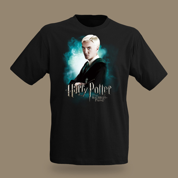 harry potter draco malfoy t shirt ebay. Black Bedroom Furniture Sets. Home Design Ideas