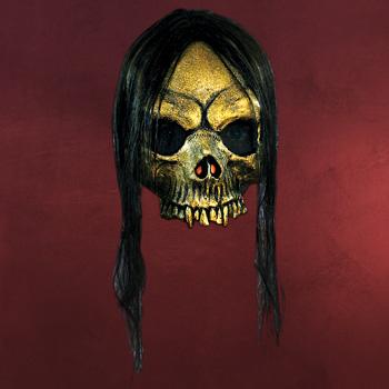 Gruftschönheit - Latexmaske