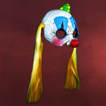 Cheerleader Clowness - Latexmaske