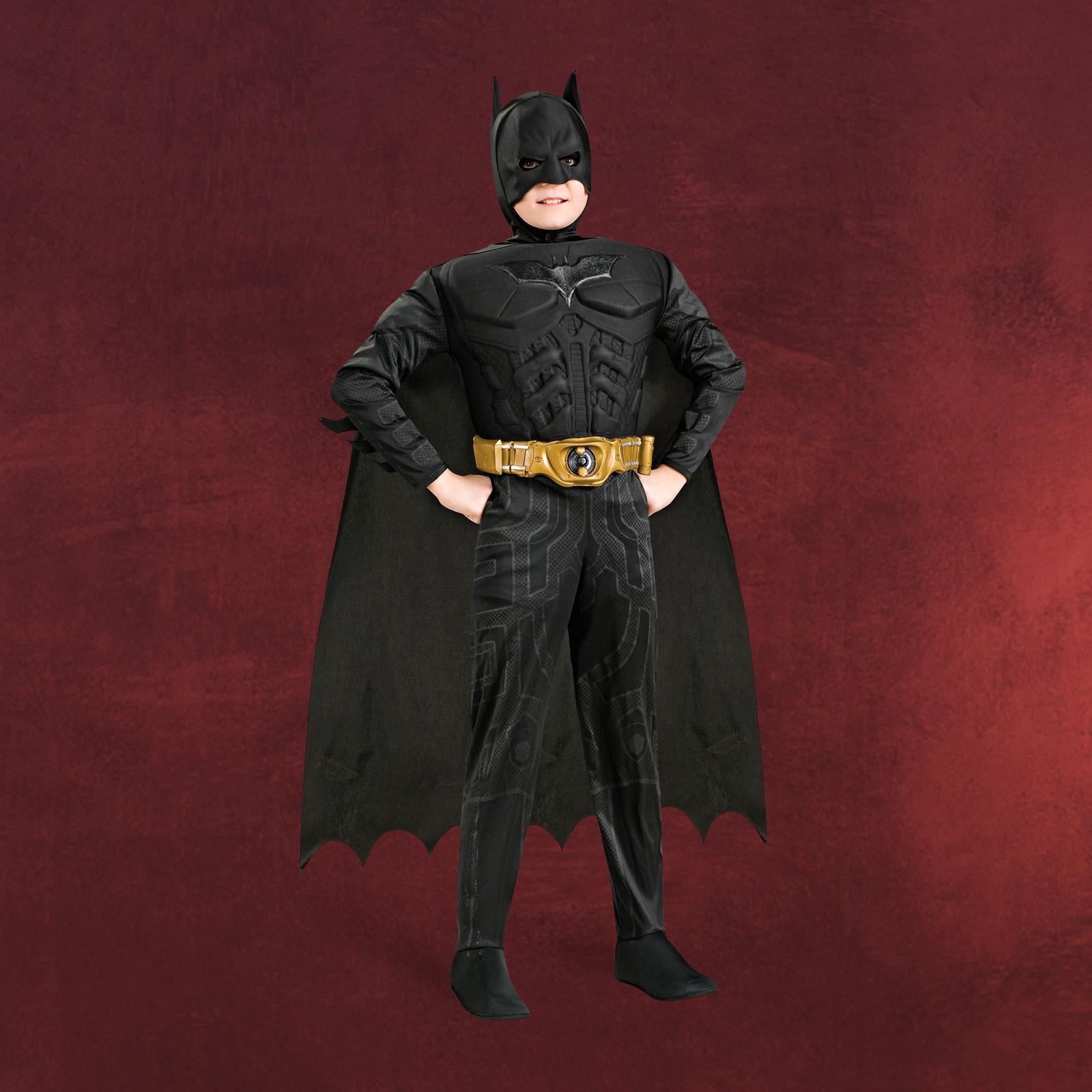 batman set 3 teilig faschings kost m inkl umhang und maske f r kinder ebay. Black Bedroom Furniture Sets. Home Design Ideas