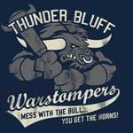 WoW Thunder Bluff Warstompers Girlie Shirt