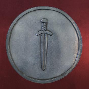LARP Schild - Sword Ready for Battle
