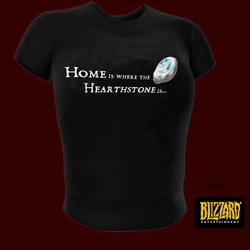 World of Warcraft Hearthstone is ...Girlie T-Shirt