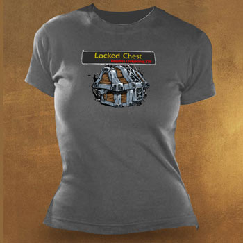 World of Warcraft - Locked Chest Girlie Shirt