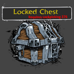 World of Warcraft - Locked Chest Girlie T-Shirt