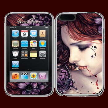 Victoria Franc�s - I Pod Sticker Butterfly - Touch