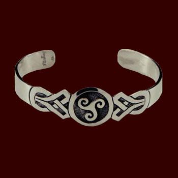 Armreifen - Keltische Triskele