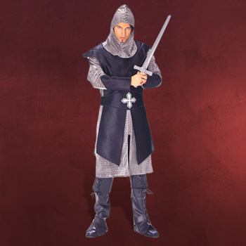 Schwarzer Ritter - Mittelalterkostüm