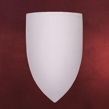 Wappenschild aus Holz zum Selbstbemalen