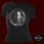 Gandalf B&W Girlie Shirt
