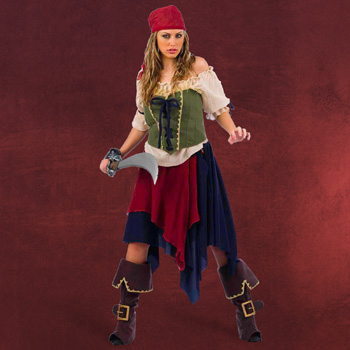Piratin - Kost�m