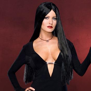 Addams Family - Morticia Perücke deluxe