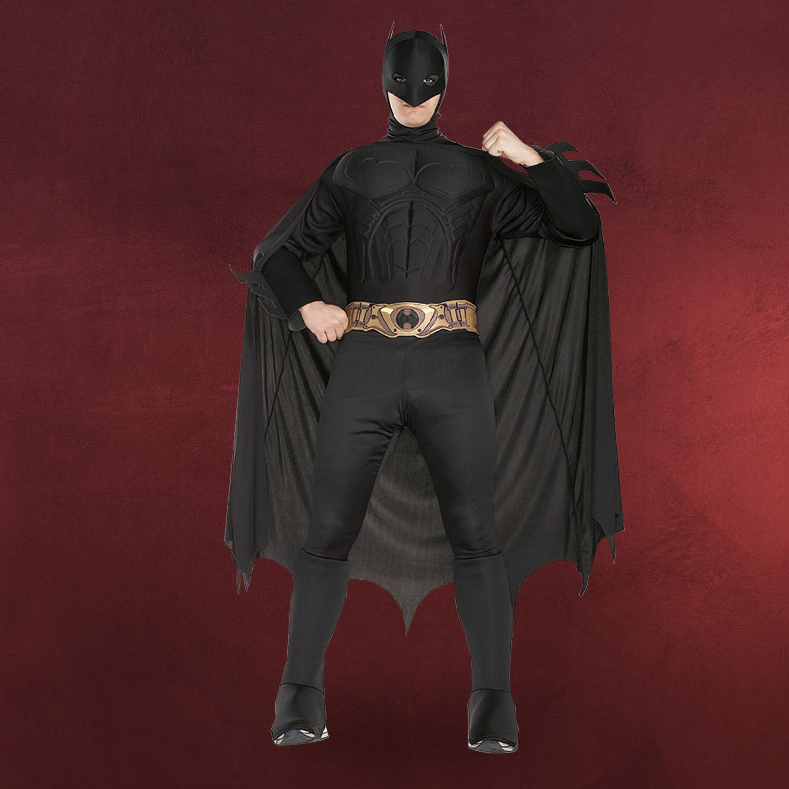 dark knight batman muskel kost m erwachsene 4 teilig ideal f r karneval ebay. Black Bedroom Furniture Sets. Home Design Ideas