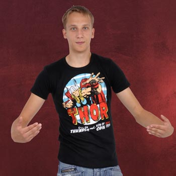 Thor T-Shirt schwarz