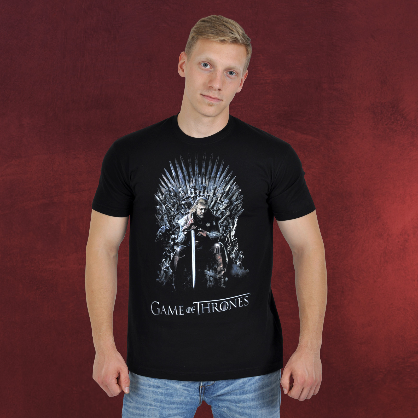 game of thrones teaser season 1 t shirt elbenwald. Black Bedroom Furniture Sets. Home Design Ideas