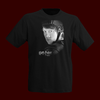 Ron Weasley Kinder T-Shirt B&W