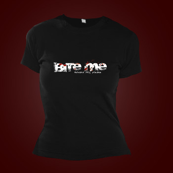 Girlie Shirt - Bite Me