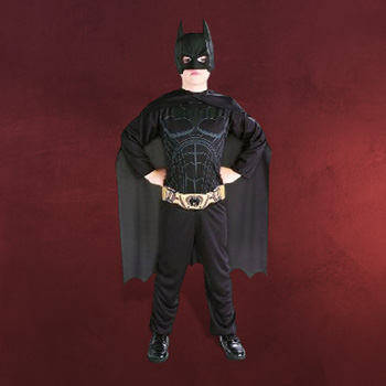 Batman The Dark Knight Rises - Kostüm Set für Kinder