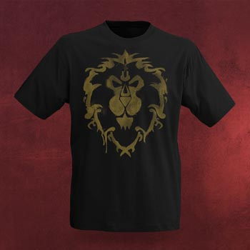 World of Warcraft Allianz Spray T-Shirt