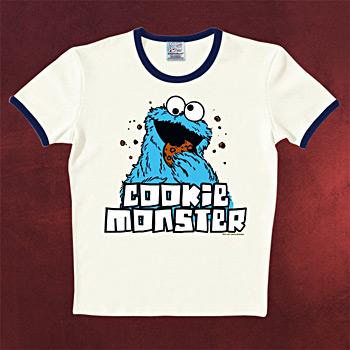 Sesamstra�e - Kr�melmonster T-Shirt