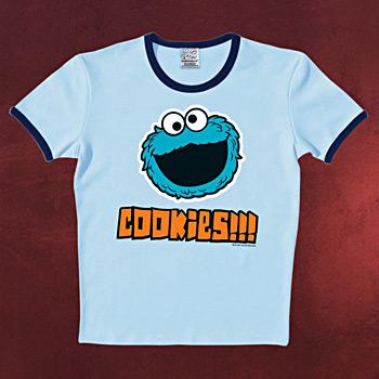 Sesamstraße - Cookie T-Shirt