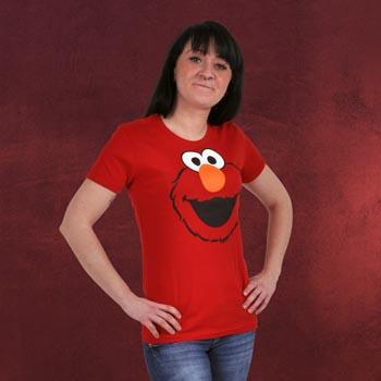 Sesamstra�e - Elmo Faces T-Shirt