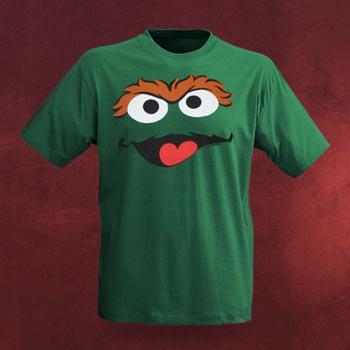 Sesamstra�e - Oscar Faces T-Shirt