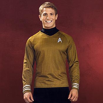 Star Trek - James T. Kirk Movie Deluxe Shirt